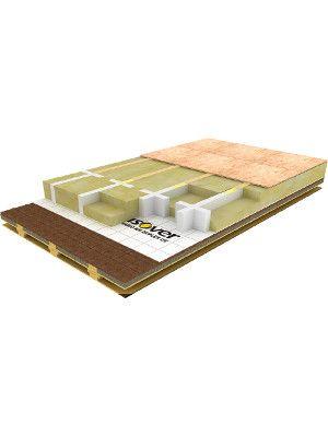Systém ISOVER STEPCROSS - tepelná izolácia pochôdnych podláh